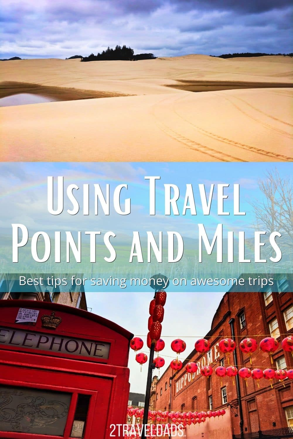 Best Tips for Using Travel Points and Miles to save money and have amazing experiences on your trips. Credit card programs, booking tricks and more easy travel hacks.