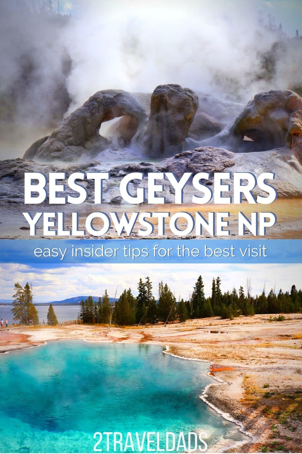 Best geyser recommendations in Yellowstone National Park. Must-see hot springs and geysers that most people miss when they visit Yellowstone. Podcast Episode reviewing geothermals.