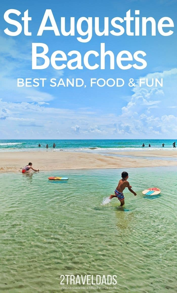 One of the best things about living in North Florida is how great St Augustine beaches are. From shark tooth hunting to enjoying great food in the beach neighborhoods, St Augustine beaches make for the perfect Florida vacation getaway.
