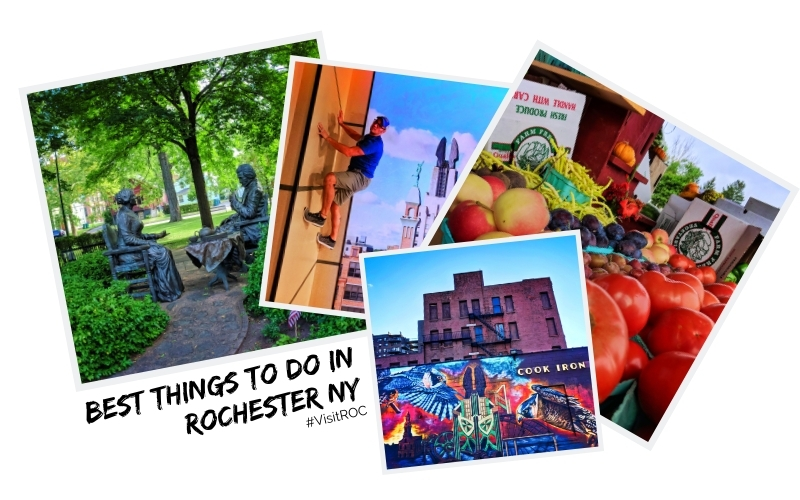 The best things to do in Rochester, New York include unique museums, wine tasting, pedal brewery tours, and enjoying the beaches of Lake Ontario. Family friendly ideas for visiting Rochester, NY.