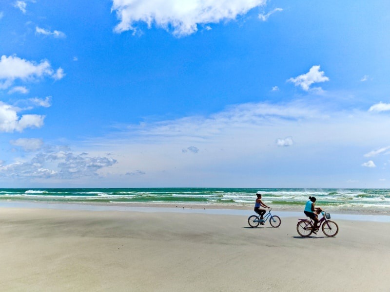 Bikes on Butler Beach Saint Augustine Florida 1