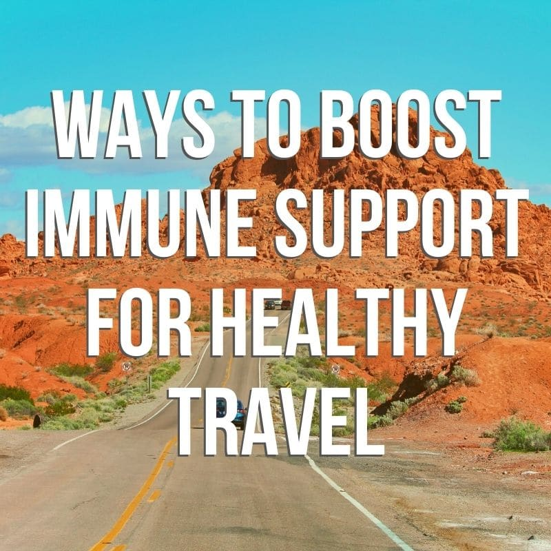 There are many ways to boost immune support to stay healthy, both while traveling and at home. 10+ easy ways to support your immune system, from vitamins to home remedies and natural health options. From both our own daily lives to what health care professionals recommend we talk about the many ways to boost and support our bodies' immunity. During a time when public health is a major concern, what can you do to make sure you and your family are taking care of each other for the future?