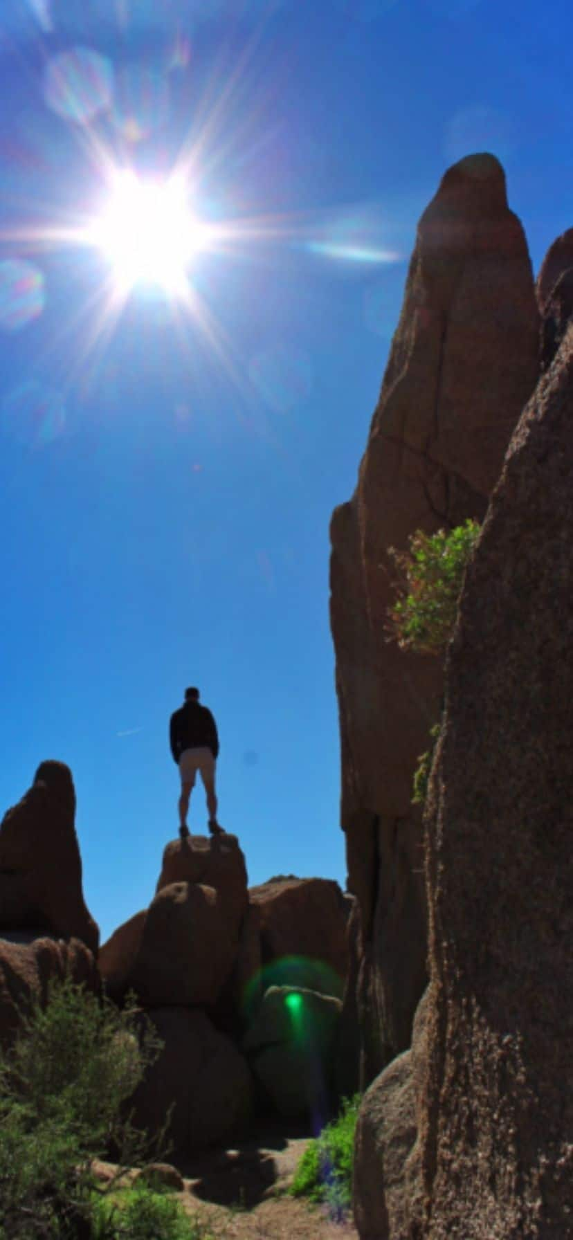 Boulder Hiking at Joshua Tree National Park
