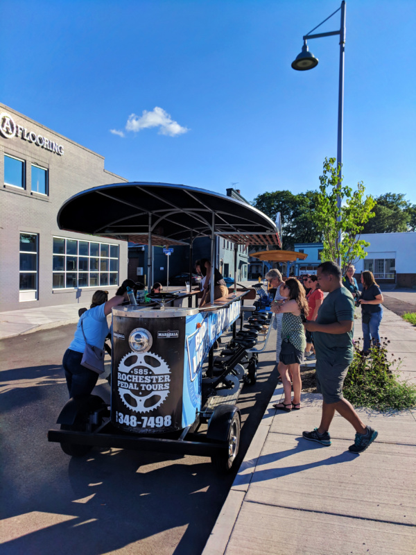 Brewery Pedal Tour of Rochester New York 3