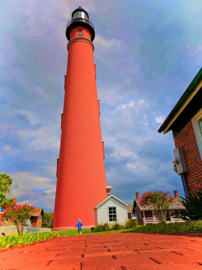 Brick path at Ponce Inlet Lighthouse Daytona Beach 2