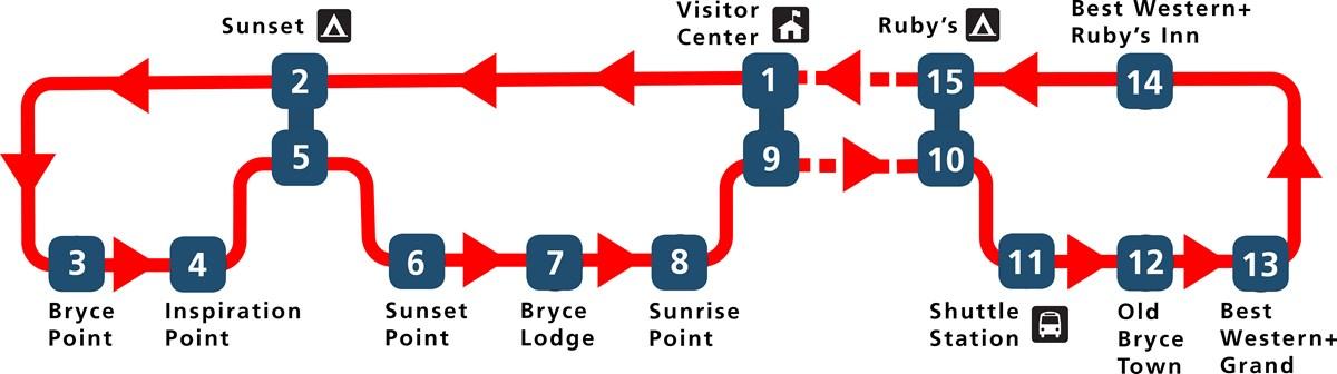Bryce Canyon Shuttle-Map-2018_2