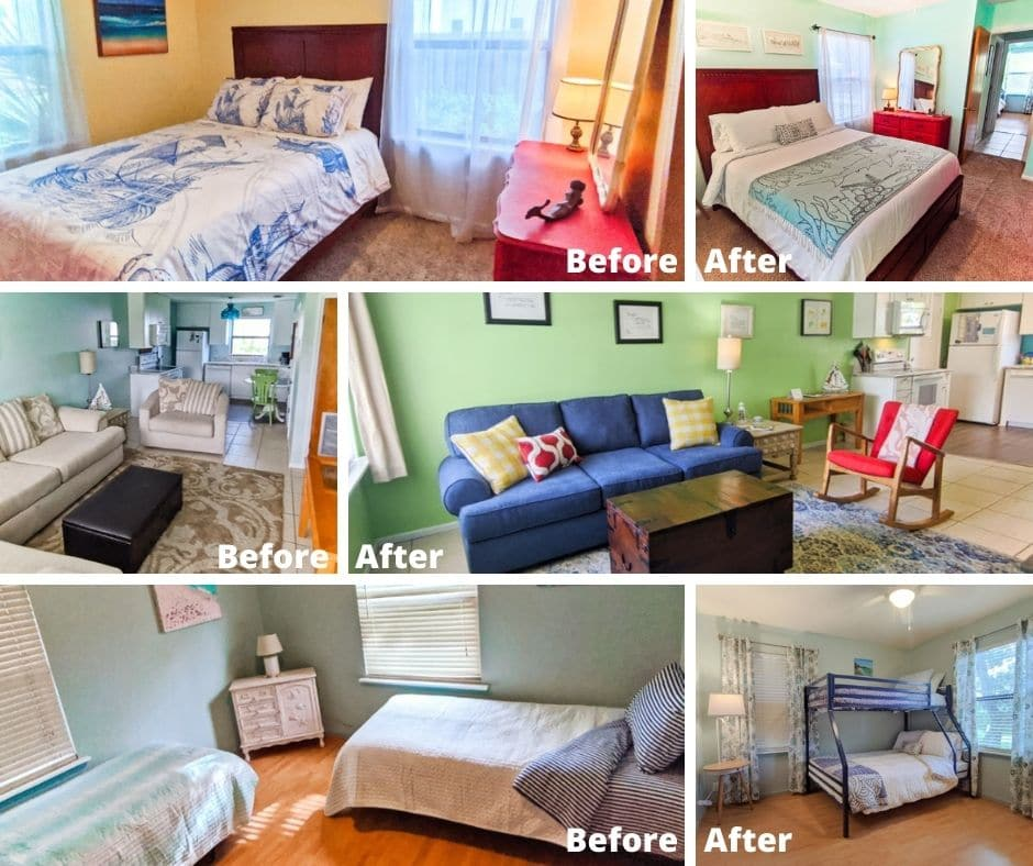 Buccaneer Bungalow Before After