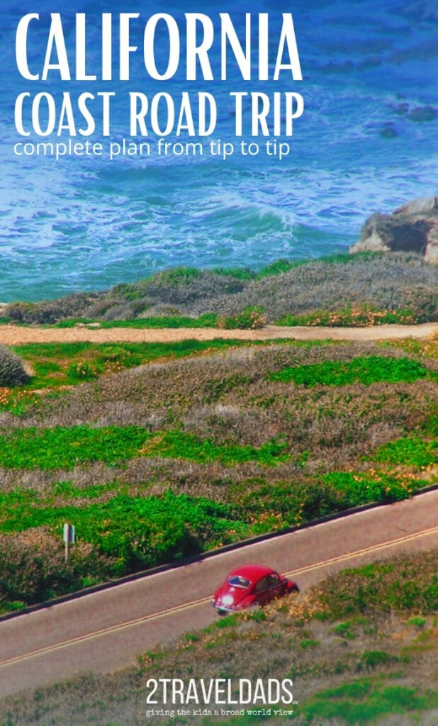 Cabrillo National Monument offers beautiful views of San Diego and lots of activities in any weather. Complete California Coast road trip plan. #roadtrip #California