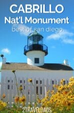 Visiting Cabrillo National Monument in San Diego is the perfect mix of nature, history and nautical interest. It's ideal to add to family travel in SoCal and is a great budget friendly activity.