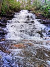 Cacading waterfalls at Minnehaha Falls North Georgia 3
