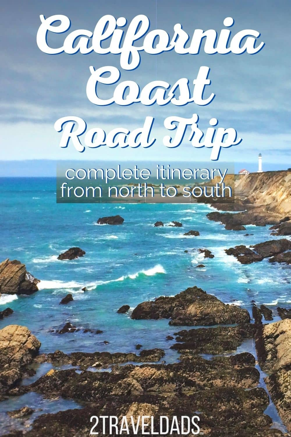 Complete California Coast road trip plan from North to South. 7 Day itinerary for the Pacific Coast Highway drive on Highway 1. Best stops on the California Coast in Big Sur, San Francisco, the Redwoods and more.