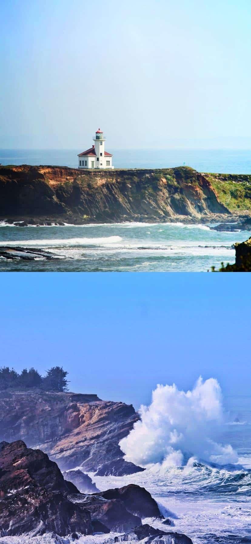 Cape Arago Lighthouse Oregon Coast Road Trip
