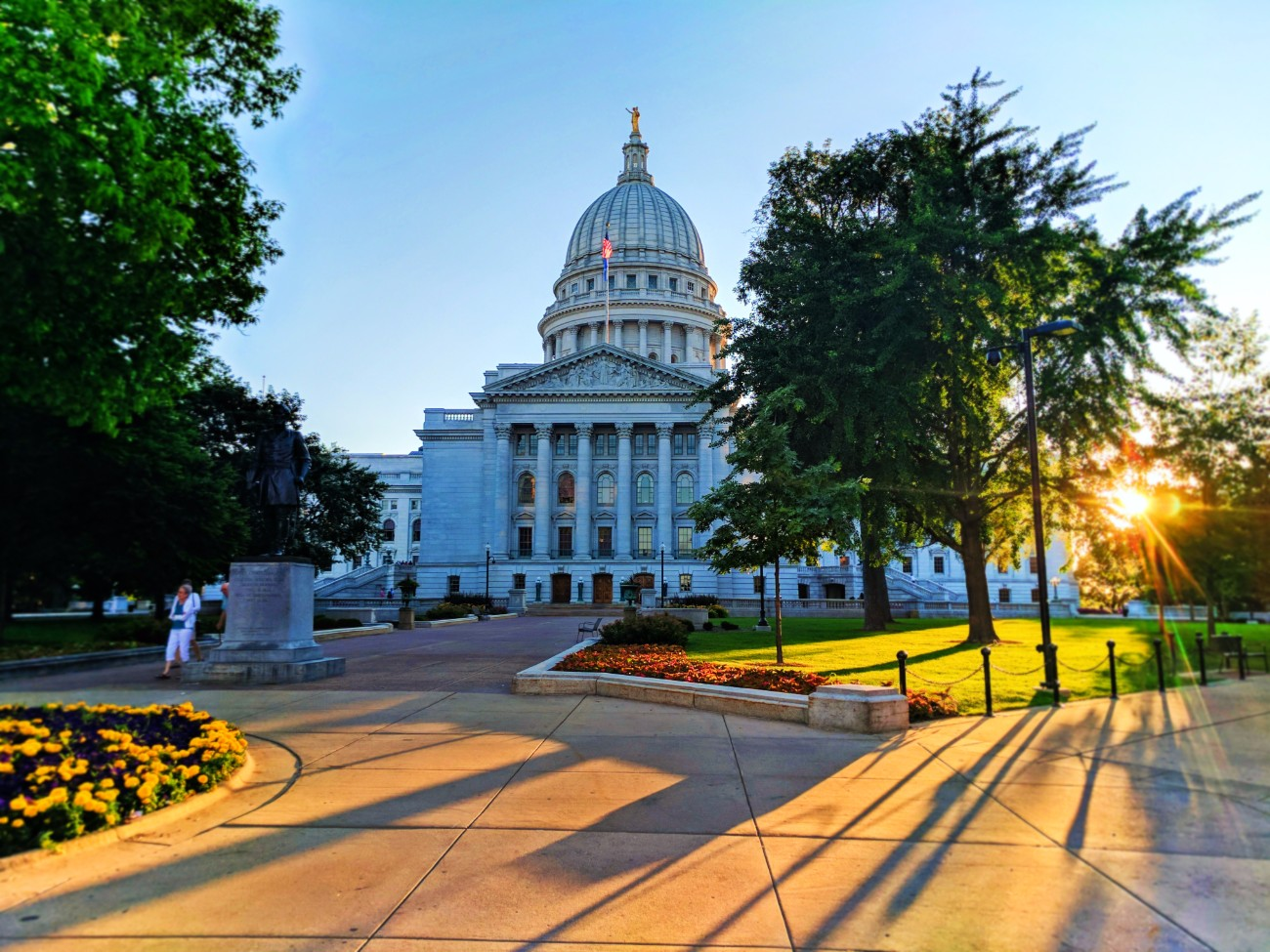 Capitol building downtown Madison Wisconsin 2