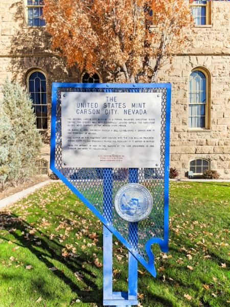 Carson City Mint Nevada State Museum Carson City Nevada 2020 1