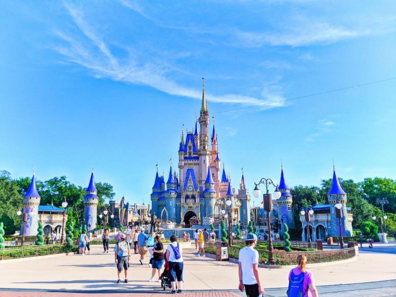 Cinderella's Castle Magic Kingdom Disney World Florida 2020 3