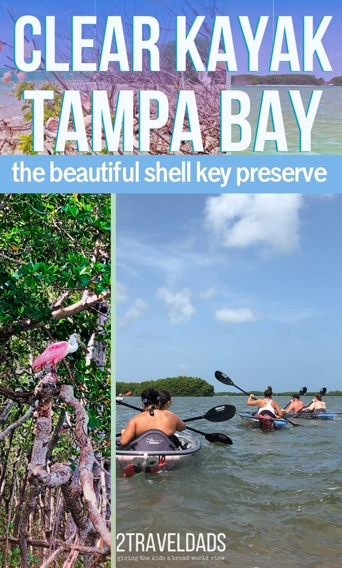 One of the most unique paddling experiences is clear kayaking, and in the Tampa Bay area the trip to the Shell Key Preserve is an incredible Florida adventure. See what to expect, what wildlife to watch for, and see that best tips for enjoying the clear kayak experience in Tampa Bay, Florida.