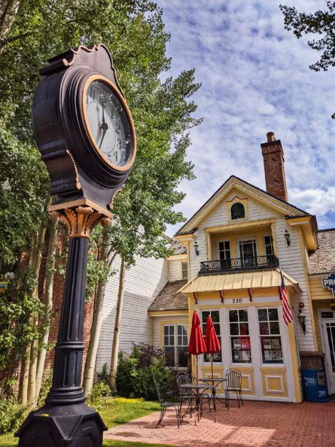 Colorful Buildings in Downtown Breckenridge Colorado 3