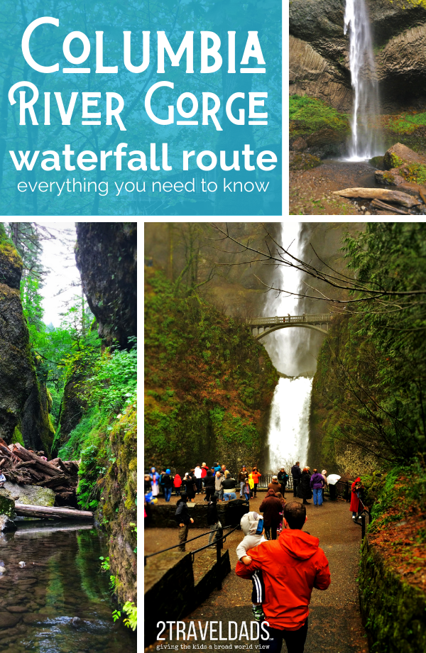 Everything you need to know for exploring the Columbia Gorge Waterfall Route in Oregon. Pacific Northwest hiking and waterfalls on a lush green road trip itinerary. #hiking #waterfalls #oregon