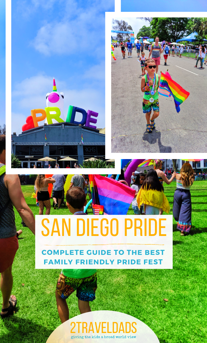 The San Diego Pride Festival and Parade are family friendly and welcoming to all. Complete information for Pride parade, 5k run, and festival details.
