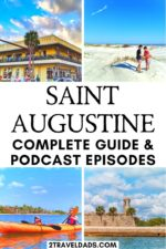 St Augustine, FL is both full of history and the best beaches in Florida. From wildlife viewing to things to do at night, this is the guide to everything you need to know about Saint Augustine, the oldest city in the USA. #Florida #vacation #travel