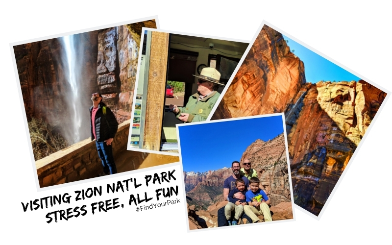 Visiting Zion National Park is a bucket list experience for many, so it's very crowded much of the year. Guide to planning a stress-free, relaxing trip to Zion with kids.