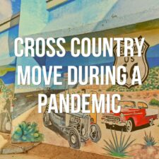 The complete apocalyptic road trip experience of cross country relocation during a pandemic. Our story, precautions we took, and observations across the USA.