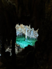 Crystal Blue pool in Lewis and Clark Caverns State Park Montana 1