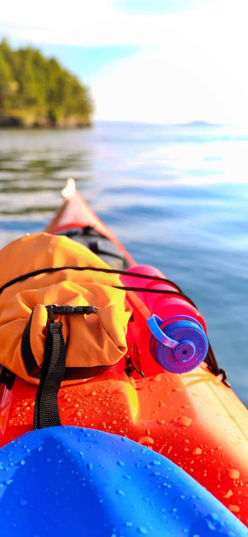 Day Trip Gear Kayaking in the San Juans