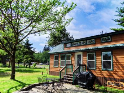 Deluxe Family Cabin at Astoria KOA Campground Warrenton Oregon 1