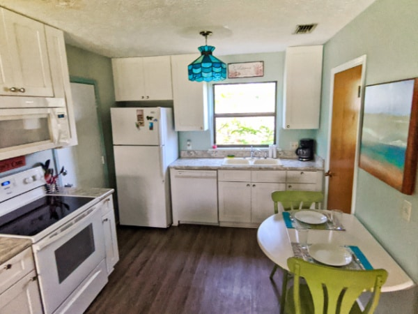 Dining Room at Buccaneer Bungalow Butler Beach Saint Augustine Florida Vacation Rental 1