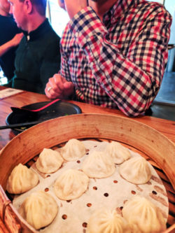 Dining at Dough Zone Dumpling House Chinatown Seattle 1