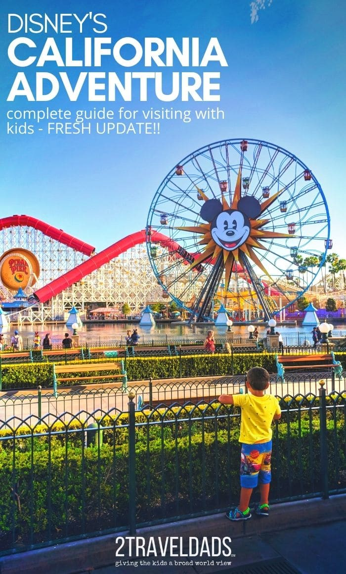 Disney's California Adventure park is always a surprise and delight. Guide to everything DCA for 2020/2021 including what to expect with Marvel Avengers Campus. Awesome SoCal family fun!