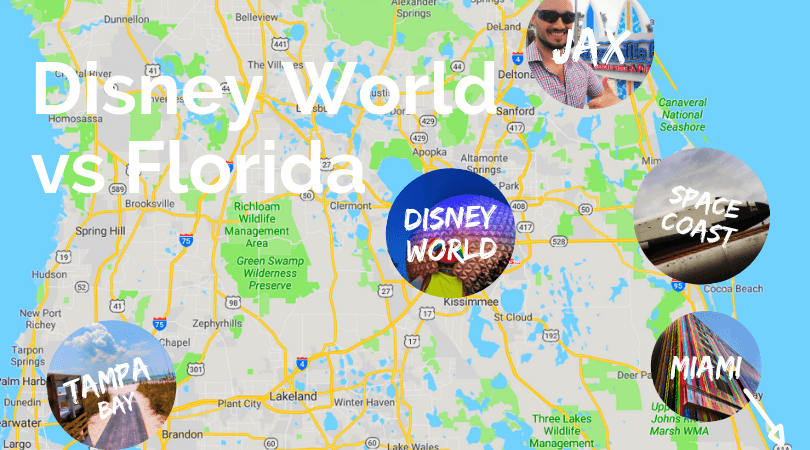 Disney World Florida map