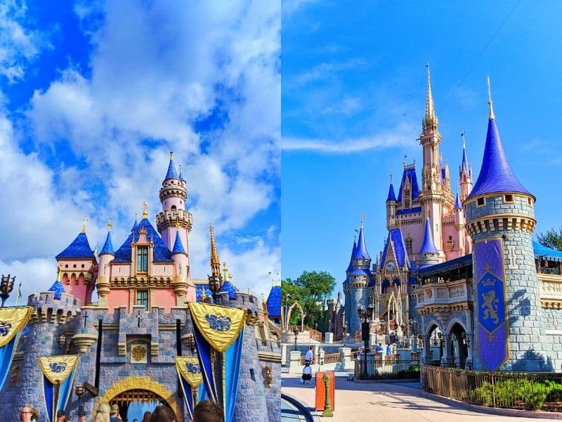 Disneyland vs Magic Kingdom - what's the similar, which has better attractions, food, and overall better experiences. We break down our favorite elements of the Disney Parks which are ALL OPEN NOW.