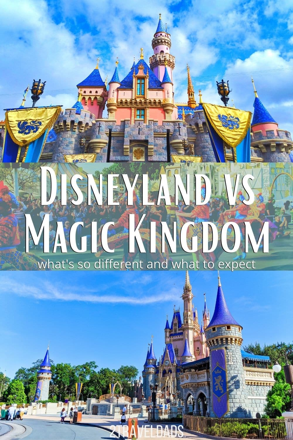 Disneyland vs Magic Kindom - what's the similar, which has better attractions, food, and overall better experiences. We break down our favorite elements of the Disney Parks which are ALL OPEN NOW.