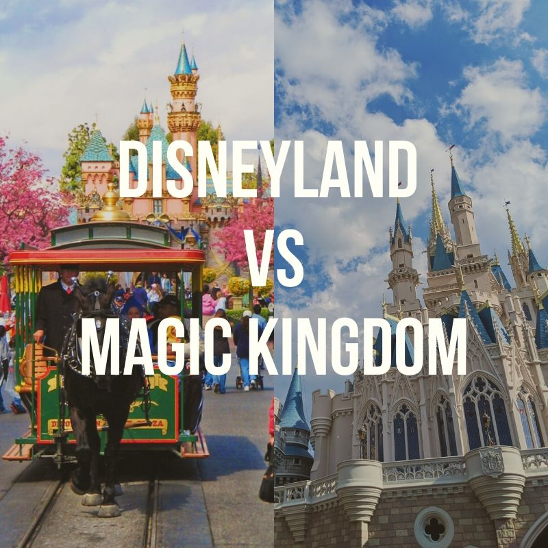 Disneyland vs Magic Kingdom Podcast
