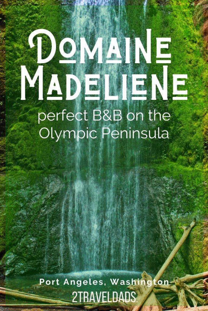 Domaine Madeliene, a Port Angeles B&B, is a quiet Olympic Peninsula bed and breakfast. Large rooms, beautiful views and calm setting make a perfect getaway.