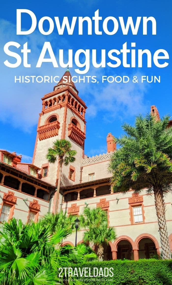 We love sharing our hometown of St Augustine, Florida with visitors. We've chosen our favorite things to do downtown St Augustine, as well as our top restaurant picks to make an easy, fun guide to plan a visit to the Ancient City.