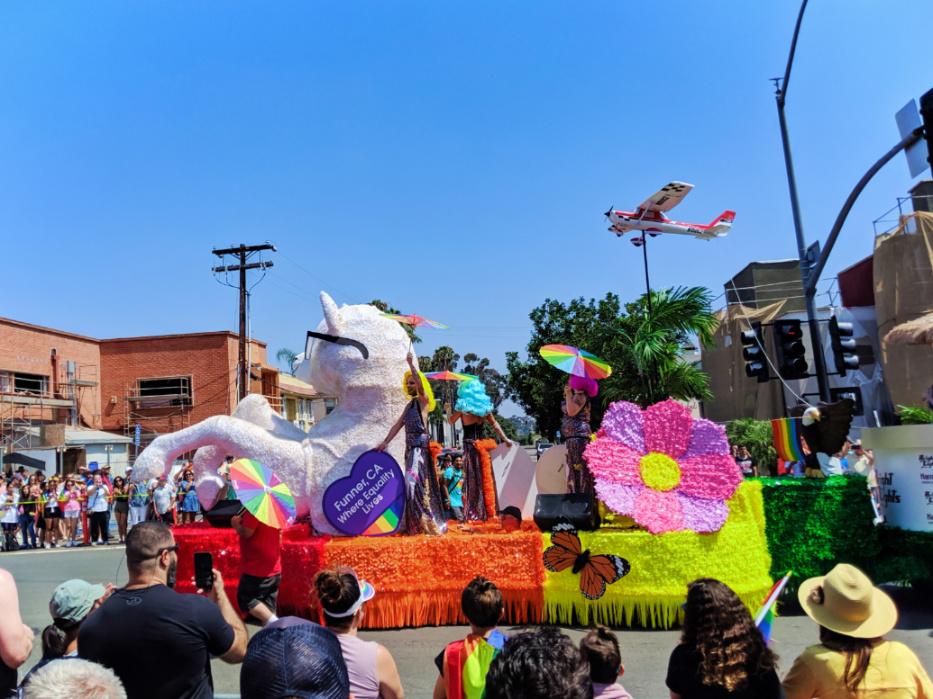 Drag Queen Float at San Diego Pride Parade 2019 3