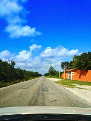 Driving Yucatan Road Trip 3