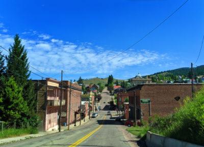 Driving into Philipsburg Montana 1