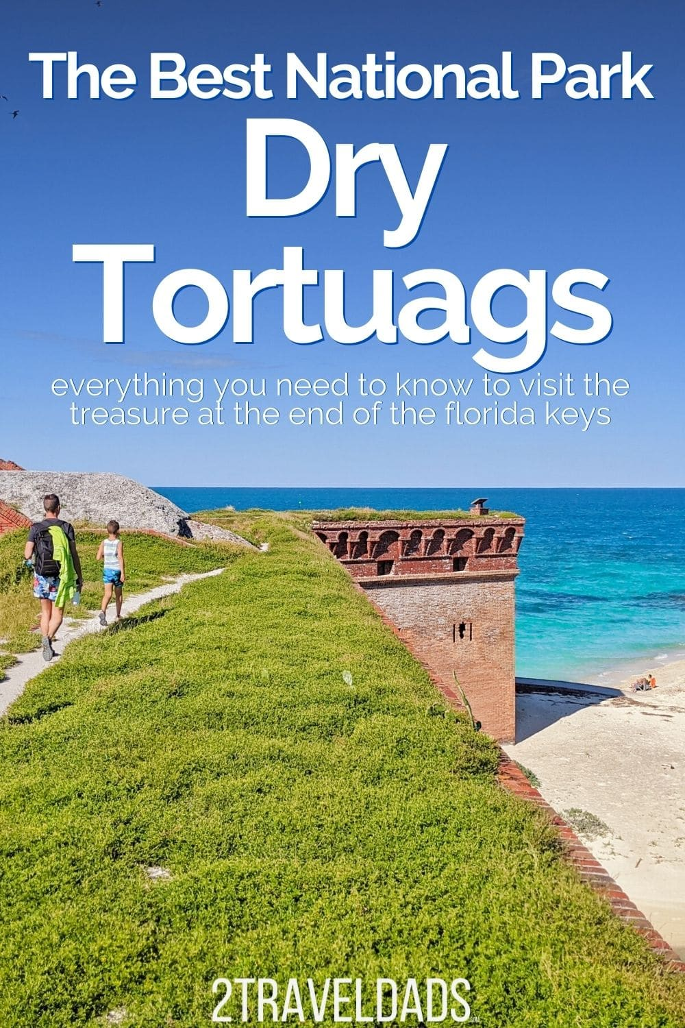 Dry Tortugas is one of the least visited National Parks in the USA. Everything you need to know for the ferry to Fort Jefferson, seaplane to Dry Tortugas, camping and visiting from Key West. Best of the Florida Keys.