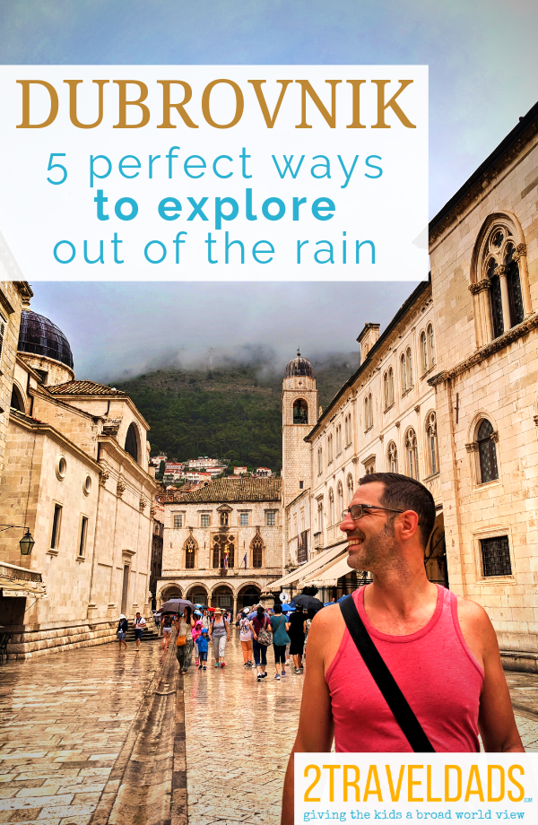 Dubrovnik in the rain is still fascinating with many things to do. Photography and museums are just a few of the best activities in Old Town Dubrovnik when it's raining.
