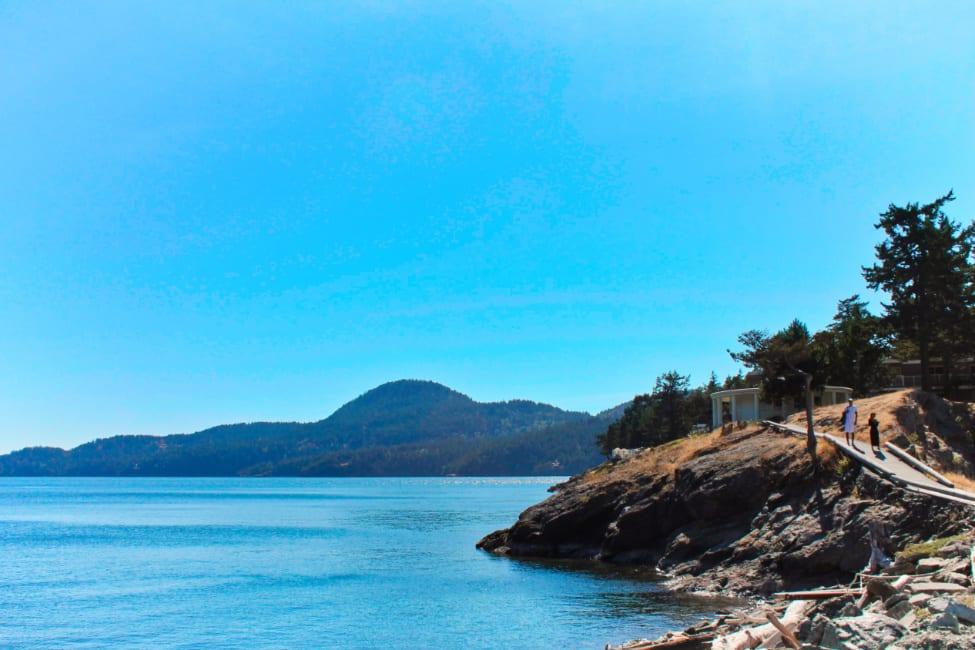 East Sound at Rosario Harbor Orcas Island San Juan Islands Washington 1