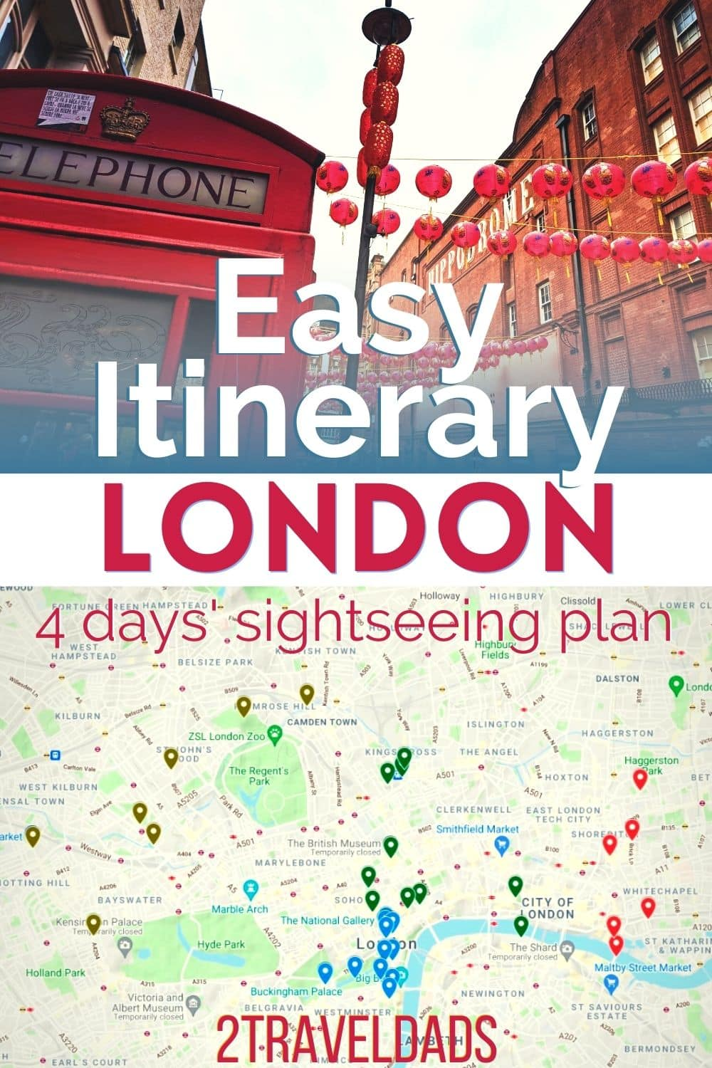 Best things to do in London, both on a budget or via tours. Tips for the best royal sights, historic places and unique art and culture in London. Plan for 4 days, easy London itinerary.