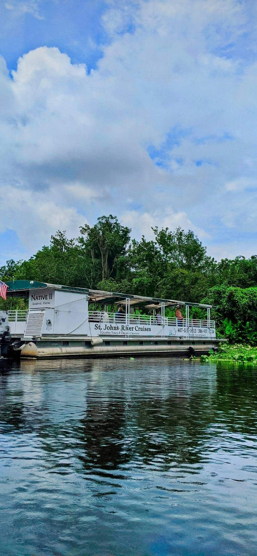Ecotour Cruise at Blue Spring State Park