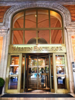 Entrance to Westin Excelsior Rome Italy 1
