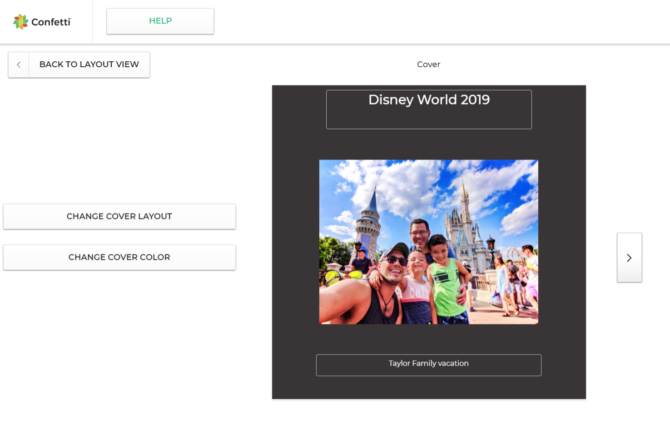 Creating The Easiest Online Photo Book With Confetti