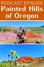 Painted Hills Oregon podcast pin 5