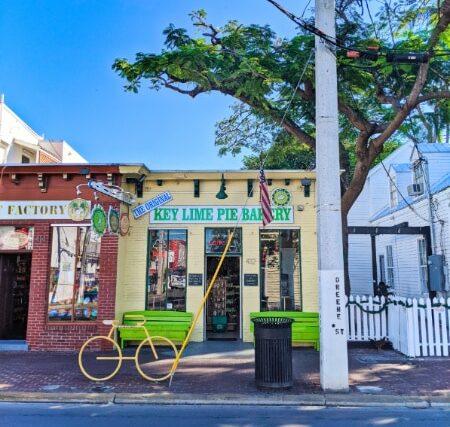 Exterior of The Original Key Lime Pie Bakery in Key West Florida Keys 2020 1